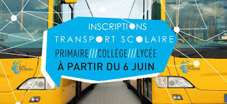 INSCRIPTIONS TRANSPORTS SCOLAIRES